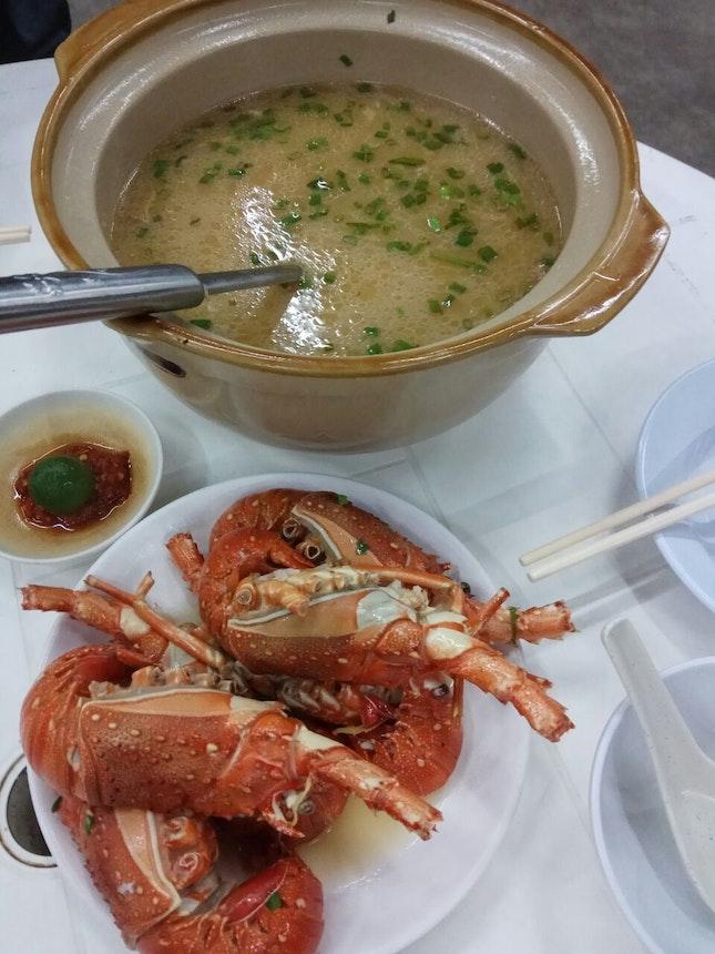 Lobster Porridge 88nett For 3 Pax Portion