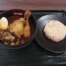 Sumiyaki lamb curry 14.5++ with kakuni +3.8++ and chicken honetsuki+3.8++