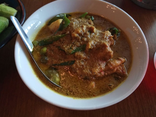 Green Curry Kampong Chicken 32++