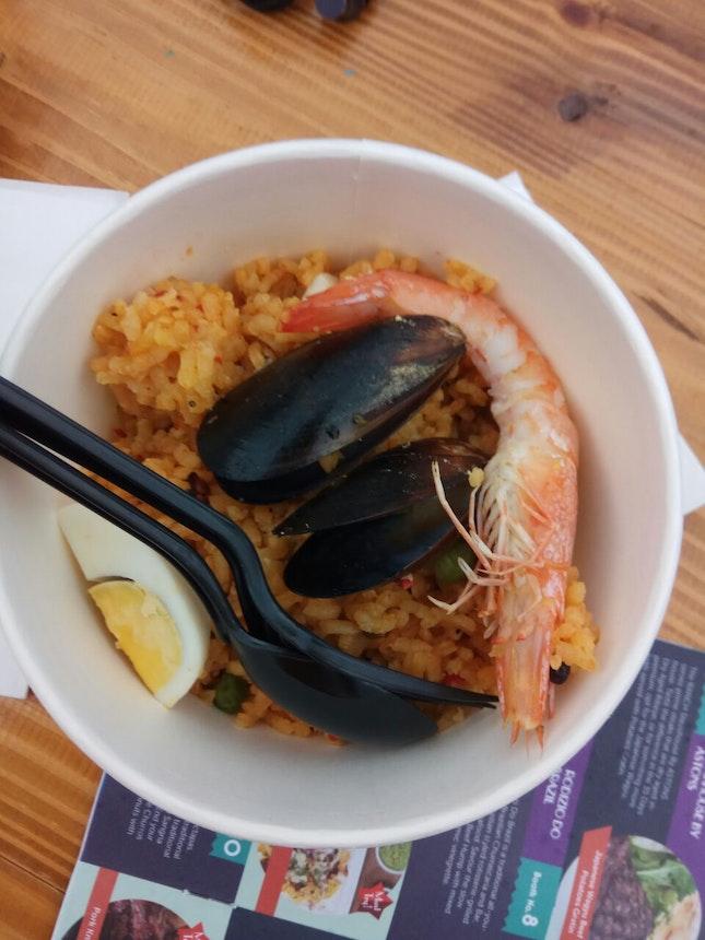 Seafood Paella 10nett (Clarke Quay FEASTival)