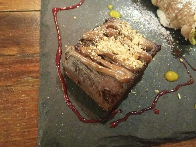 Brownie(Part Of Dessert Platter)