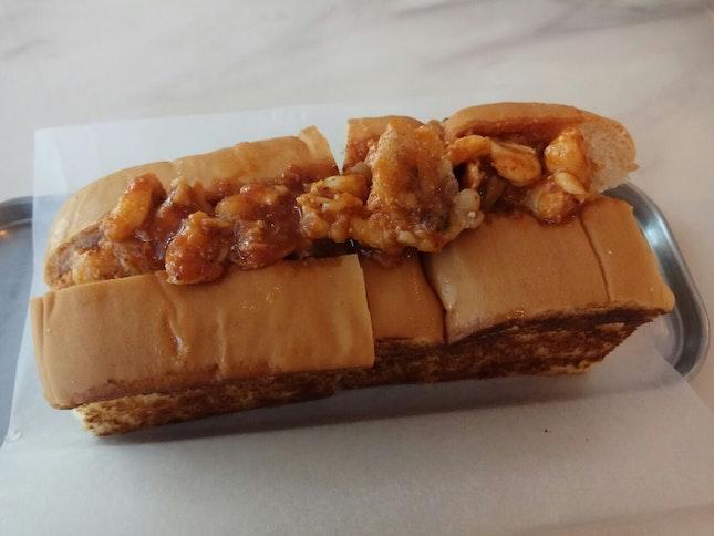 Chili Crab Sauce Seafood Roll