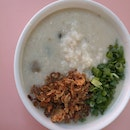 Century Egg Pork Slice Porridge 3.5nett +pork Slice 1nett +Minced Pork 1nett