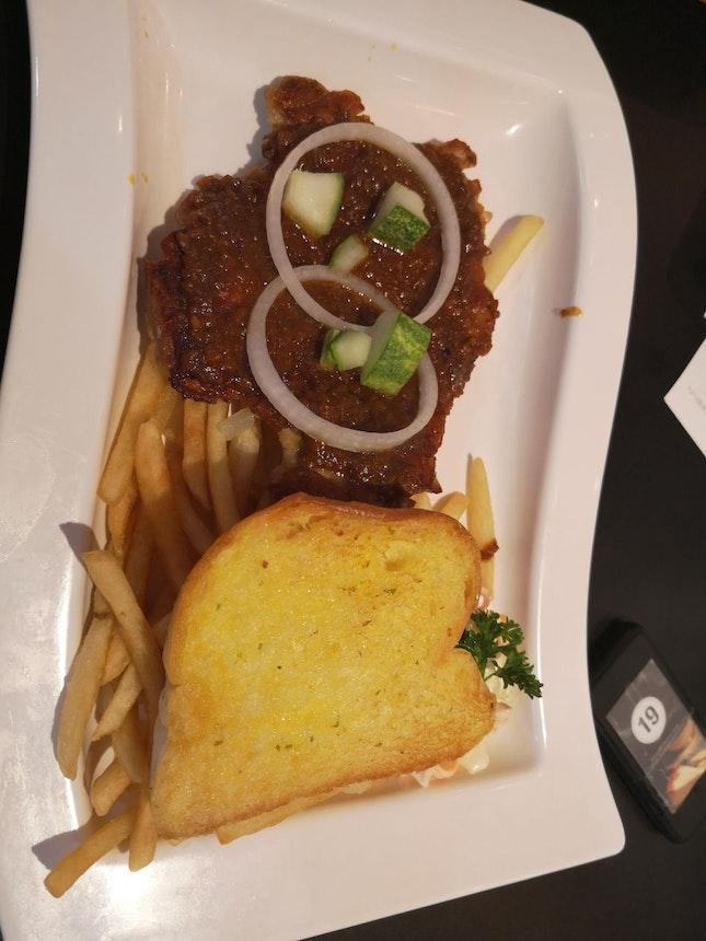 Satay Chicken Chop 10.9nett