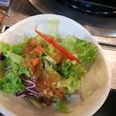 Salad (complimentary)