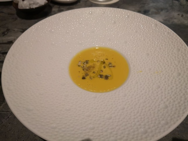 Pumpkin Soup(Soup Course) (Restaurant Week Lunch 68++)