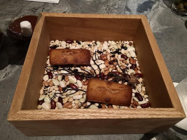 Financiers (Mignardise/Mini Dessert Course) (Restaurant Week Lunch 68++)