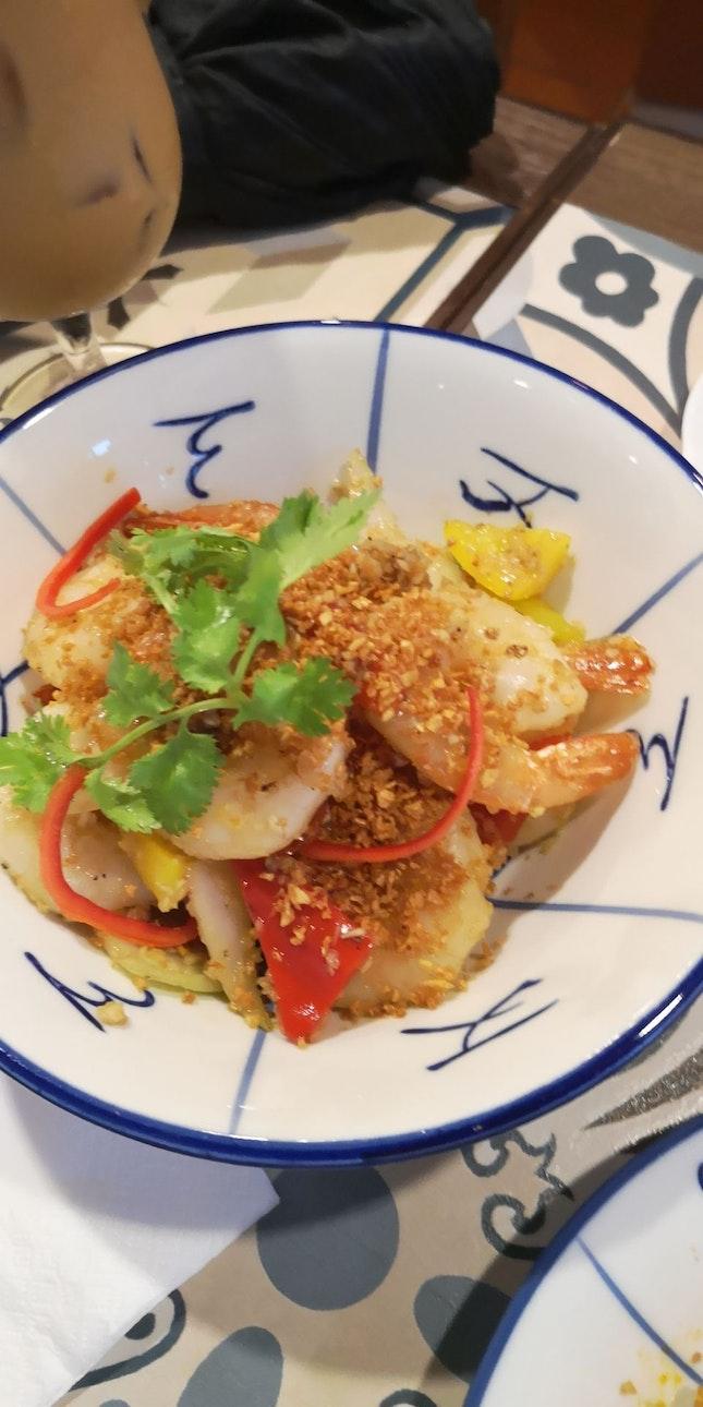Garlic Udang 20.9+