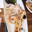 Seafood Pasta Aglio Olio Style 27.9++