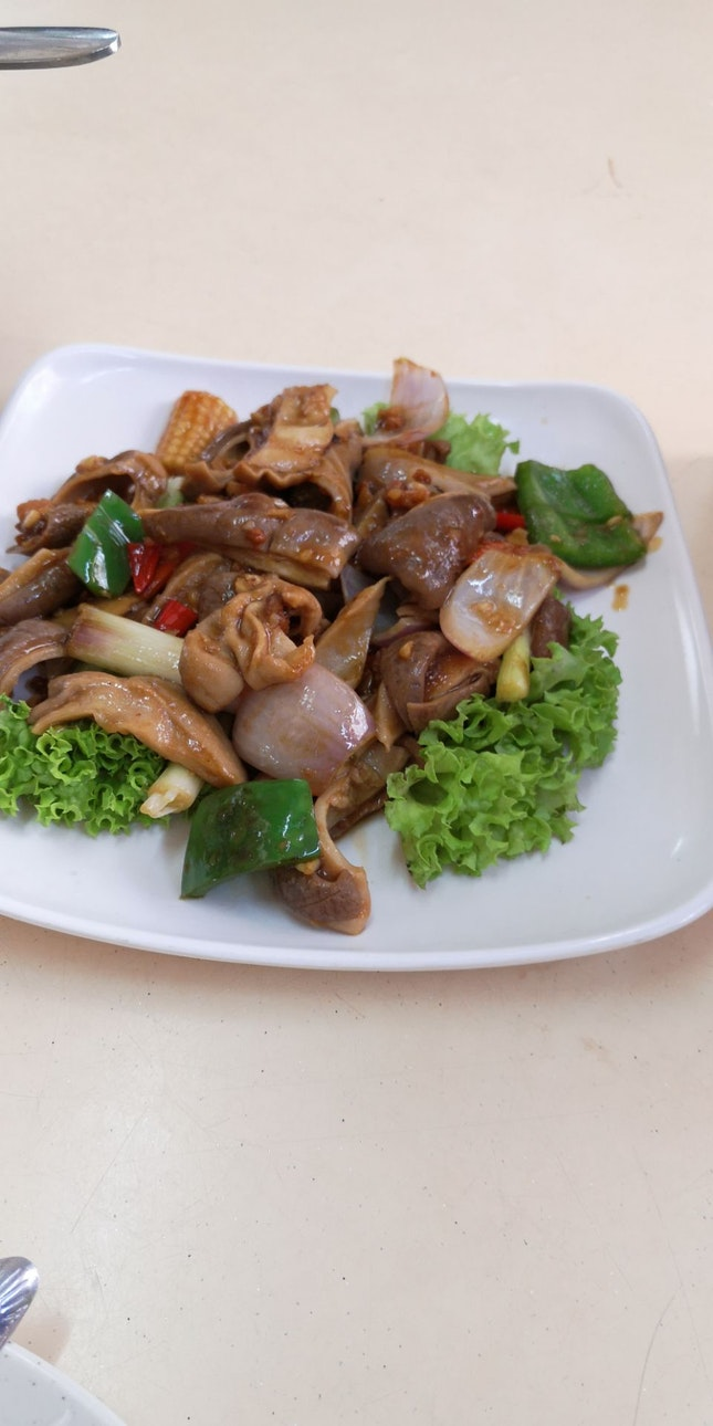 Pig stomach W Dried Shrimp 12nett