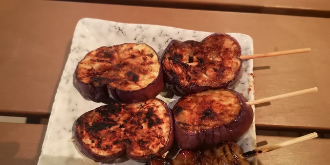 Eggplant Shio 4+Svc/2sticks