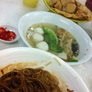 {18/1/13} JB famous fish ball noodle #dinner