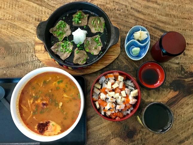 Gyu Tongue Negiyaki (RM28)