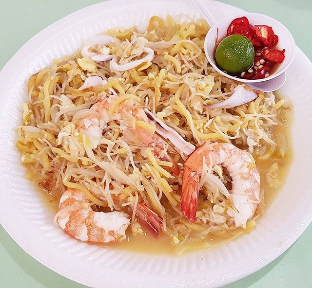 It's been so long since i last ate this hokkien fried mee.