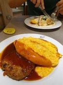 Cheap &Good Omu Rice!