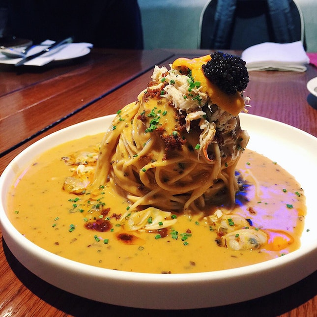C&C&C&C + Sea Urchin Pasta