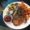 US Kurobuta Bone-In Pork Chop