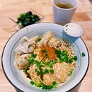 Pork Wanton in Chilli Vinaigrette Dry Noodles