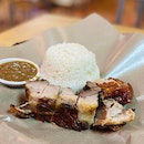 Chopped Lechon Rice ($10)