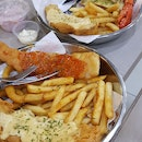 Salted Egg Chilli Crab Fish & Chips