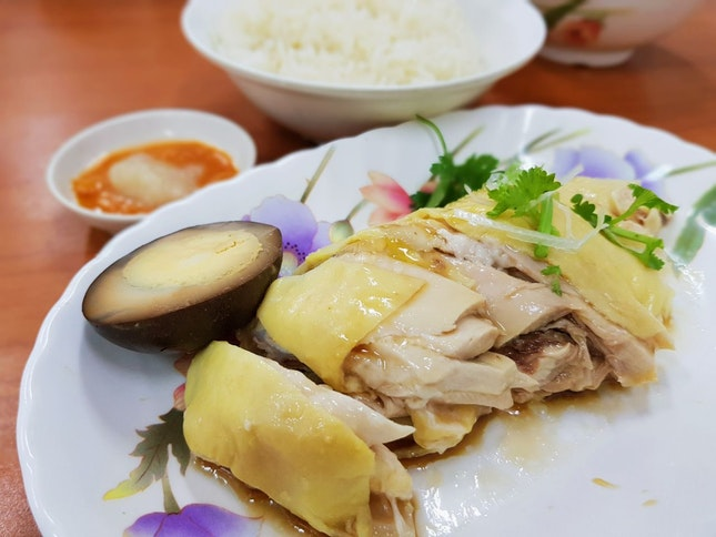 Kampong Chicken Rice Set ($4.70)