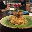 Deep Fried Soft Shell Crab Pasta (RM28)