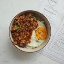 Spicy Minced Chicken Donburi