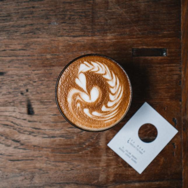 Latte (RM9)