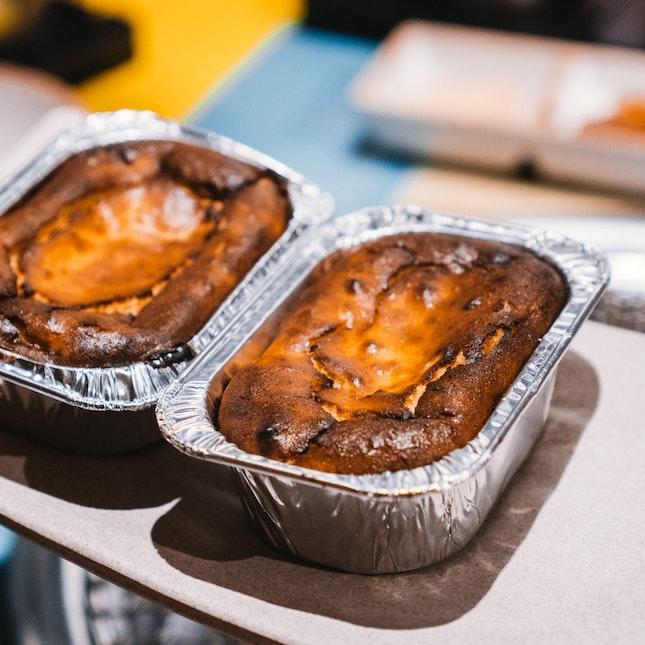 Charcoal Burnt Cheese Cake (RM12)