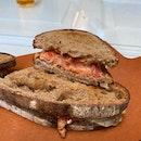 Smoked Salmon Sandwich (RM25.80)