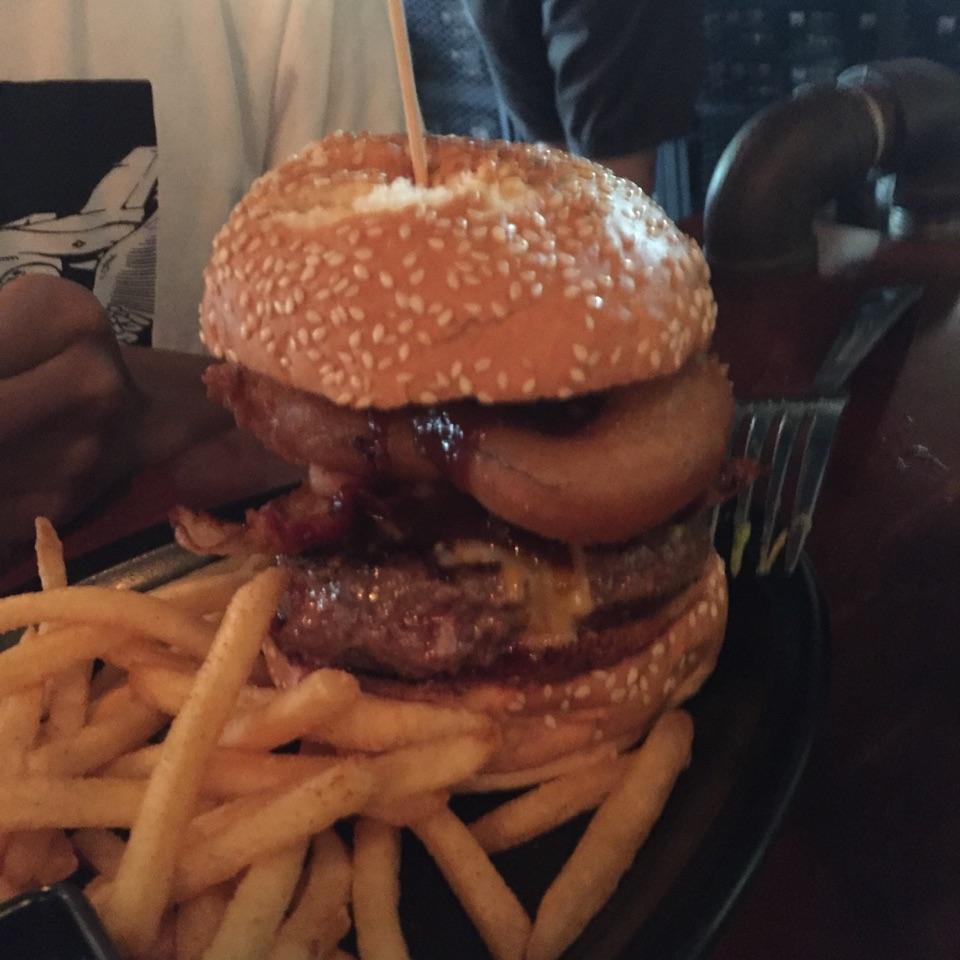 The Longhorn Burger.