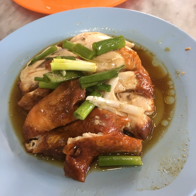 Roasted Chicken By Lou Wong