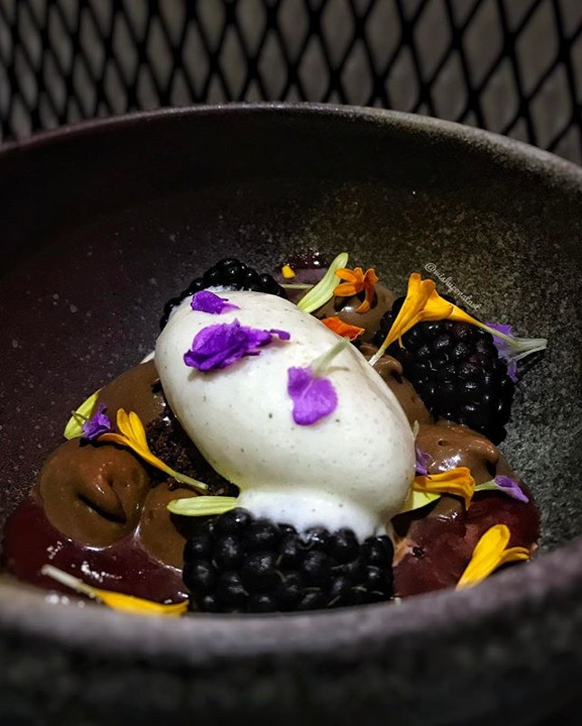 This deconstructed black forest ($18) is an interesting take on the usual black forest.