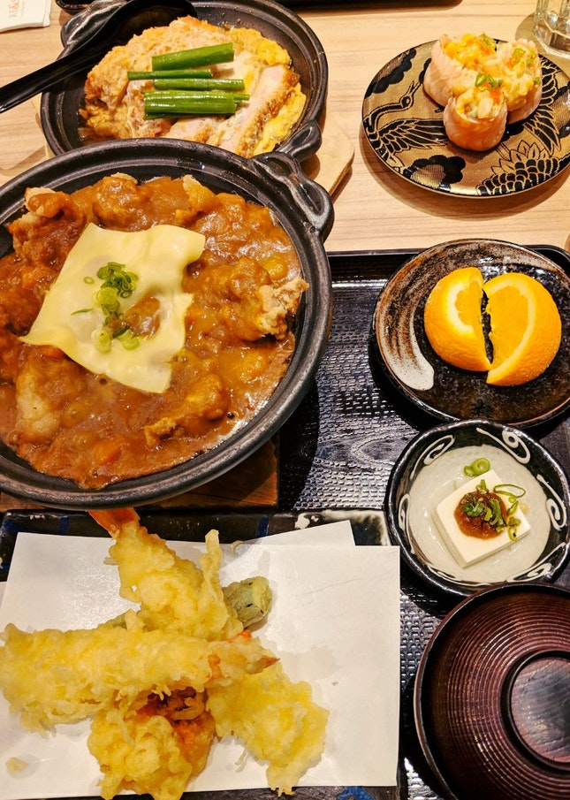 Chicken Karage wuth Curry And Cheese Bento