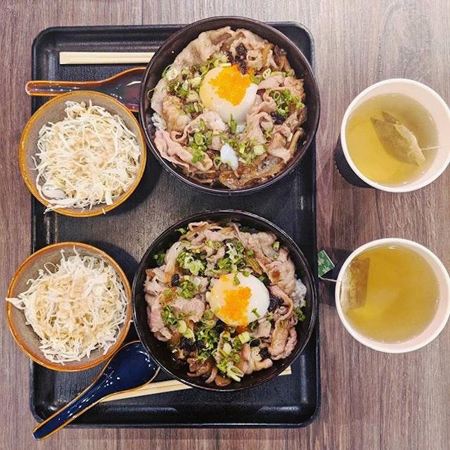 Throwback to the Special edition - Sukiyaki Wagyu ;) #wagyubowl #lunchaffair #fluffyunicorn🦄 #2018❤️ #restaurantsg #nomnomnom #whati8today #burpple #burpplesg #igsg #igsgfoodies #foodislove