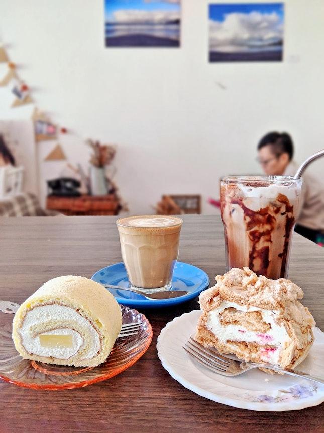 Swissroll And Coffee