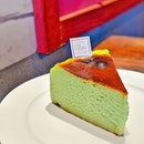 What about Pandan Burnt Cheesecake 🥰 .