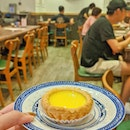 Always a bliss to have egg tarts 😋 .