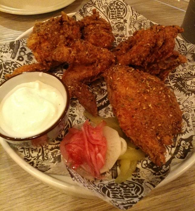 Lebanese Fried Chicken ($25/Half Bird)