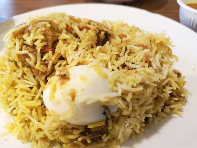Mutton Dum Biryani ($9.50)