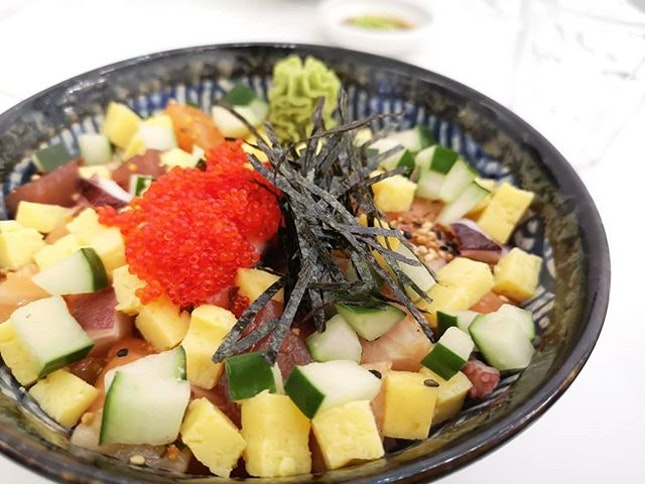 Bara Chirashi Don ($22.90 1 for 1 with #burpplebeyond).