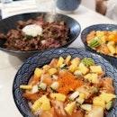 Really Satisfying Beef And Sashimi Dons!