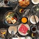 Wagyu Sukiyaki and Curry Katsu Don