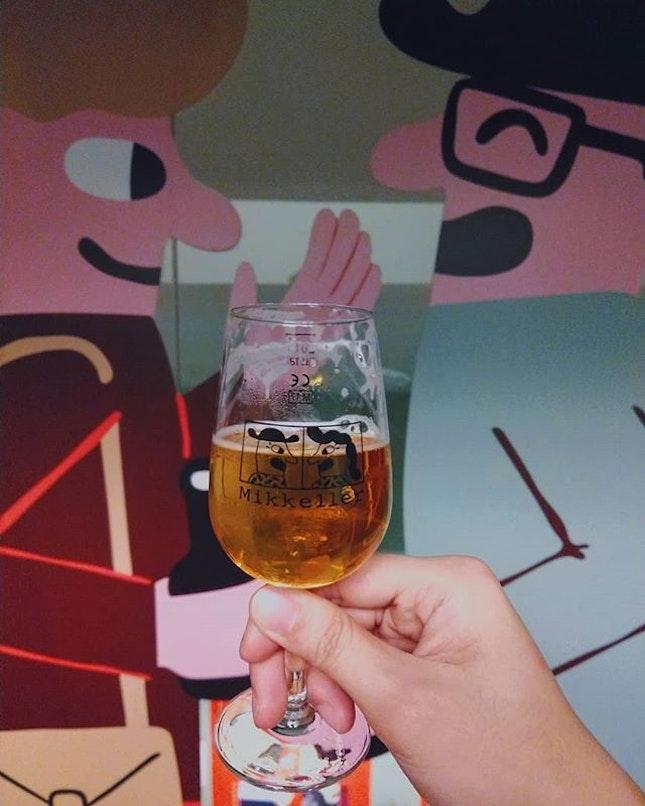Beauty is in the eye of the beer holder.😍 #mikkeller #beer #burpple #singapore