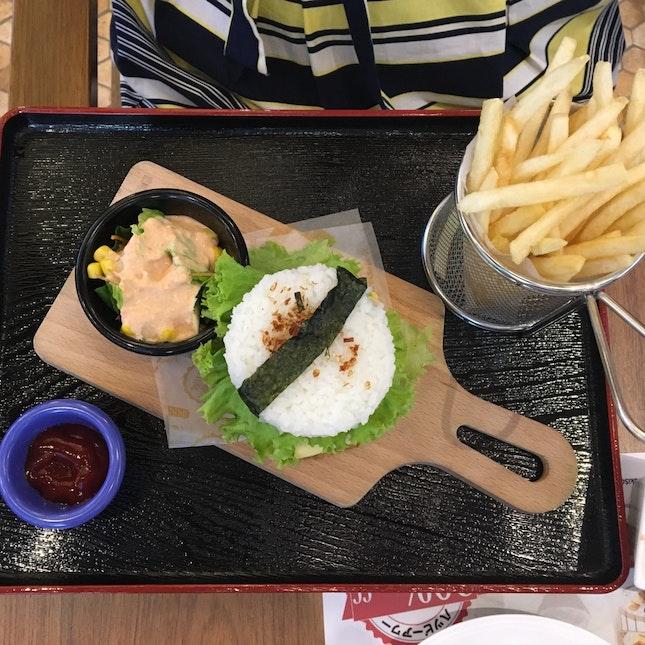Ebi Rice Burger