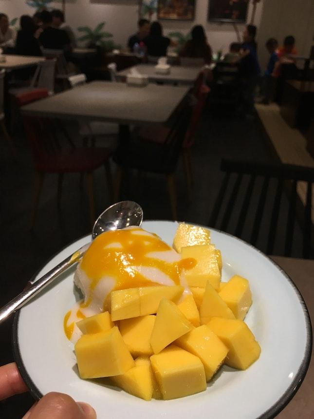 Mango Sticky Rice ($6.9)
