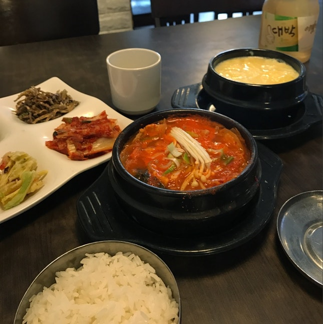 Simple yet hearty korean fare