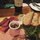 Meat and cheese platter $17.