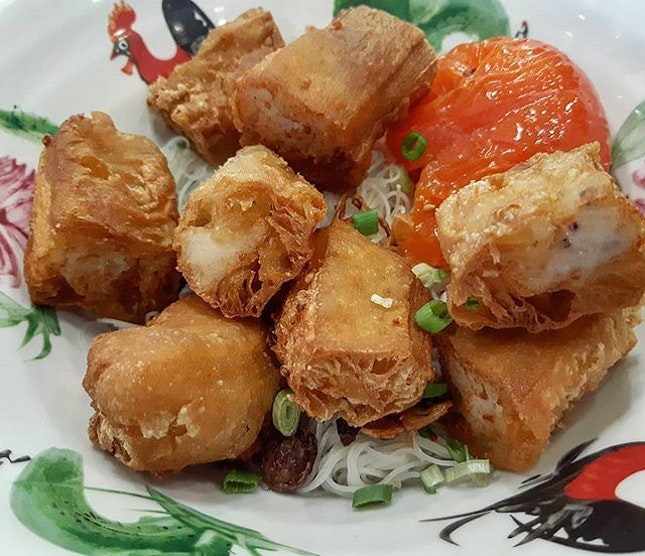 Lunch for todayYong tau fu 😍😍😍 @ Jason Niang Dou Fu321 Beach Rd