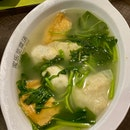 Spinach Soup With Yong Tau Foo ($3.80)